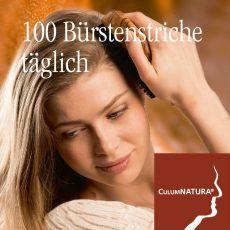 100 Bürstenstriche Täglich