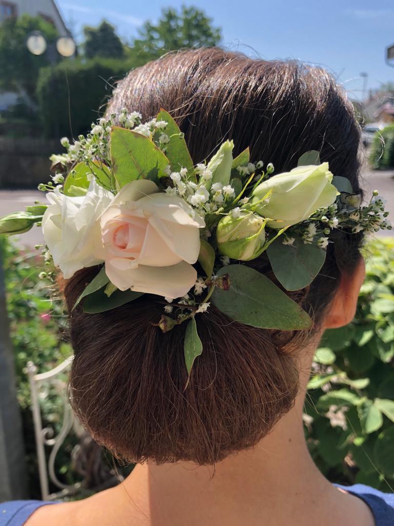 Hochzeit Braut Frisur Sulzfeld